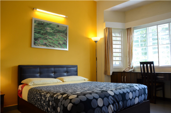 Superior double rooms with attached bathroom  (1 queen size bed)