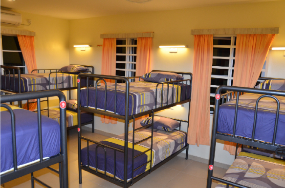 Female dormitory bed